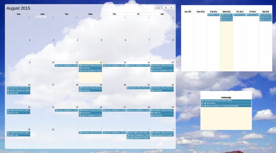Calendar Widget – Release #99950008