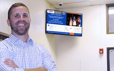 Franklin Middle School Improves Communications with ARREYA Digital Signage