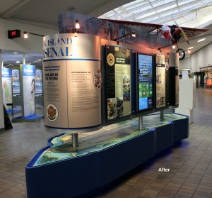 New Digital Signage - Rock Island Arsenal Kiosk