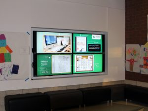 Digital Signage with Multiple Screens