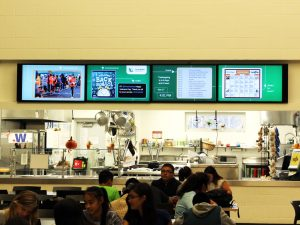 Multiple Screen Signage and Digital Display Walls