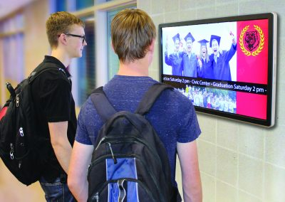 Arreya School Digital Signage software for Highschools
