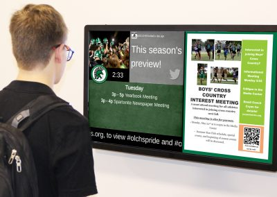 Better ways to communicate with students - Arreya Digital Signage Software