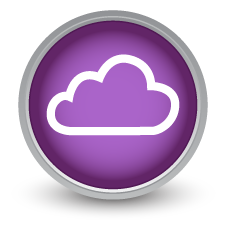 Digital Signage Cloud Icon