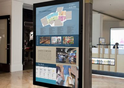 Arreya Interactive Digital Wayfinding Signage Displays