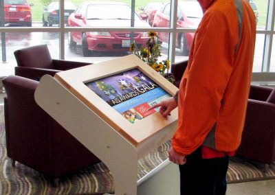 Arreya Digital Kiosk Display Software