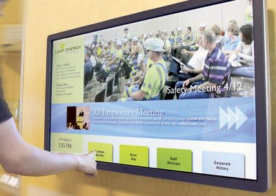 Digital Sign for Employee Communication