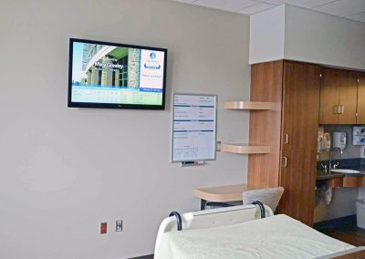 MGMC Digital Sign Software for Hospital Room Communications - Arreya