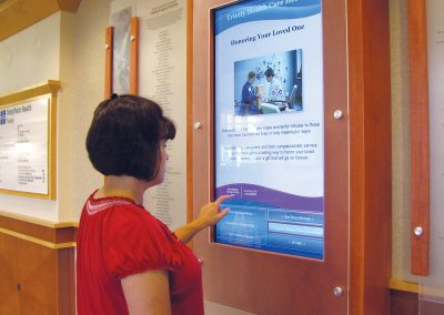 Digital Touchscreen Display Software for Donor Walls - Arreya Digital Signage Suite