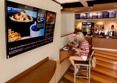 digital signage for retail and digital menu boards - Arreya