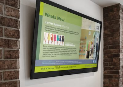 Digital Signage Display for Retail Stores