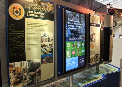 History Kiosk - Rock Island, IL Arsonal - Using Arreya Digital Signage Software