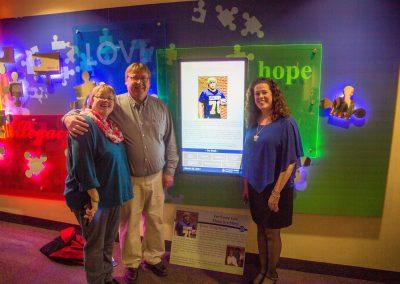Iowa Methodist Digital Donor Recognition Display - Arreya Digital Signage Suite