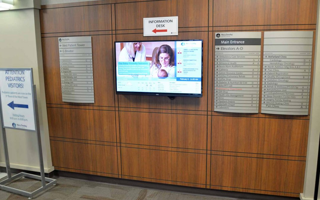 8 Places to Use Hospital Digital Signage