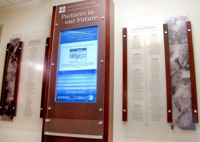 Digital Donor Wall Hosptial