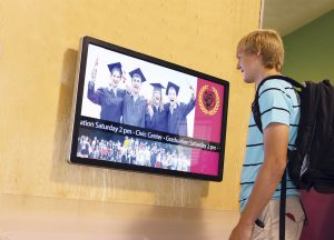 school digital signage solutions