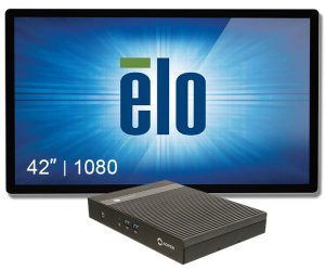 "Digital Signage 42"" Elo+chromebox Commercial 2"