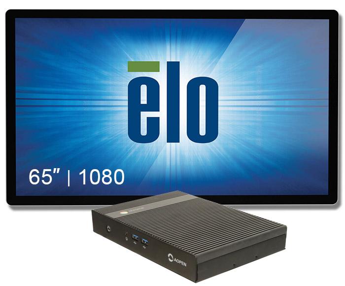 "Digital Signage 70"" Elo+chromebox Commercial 2"