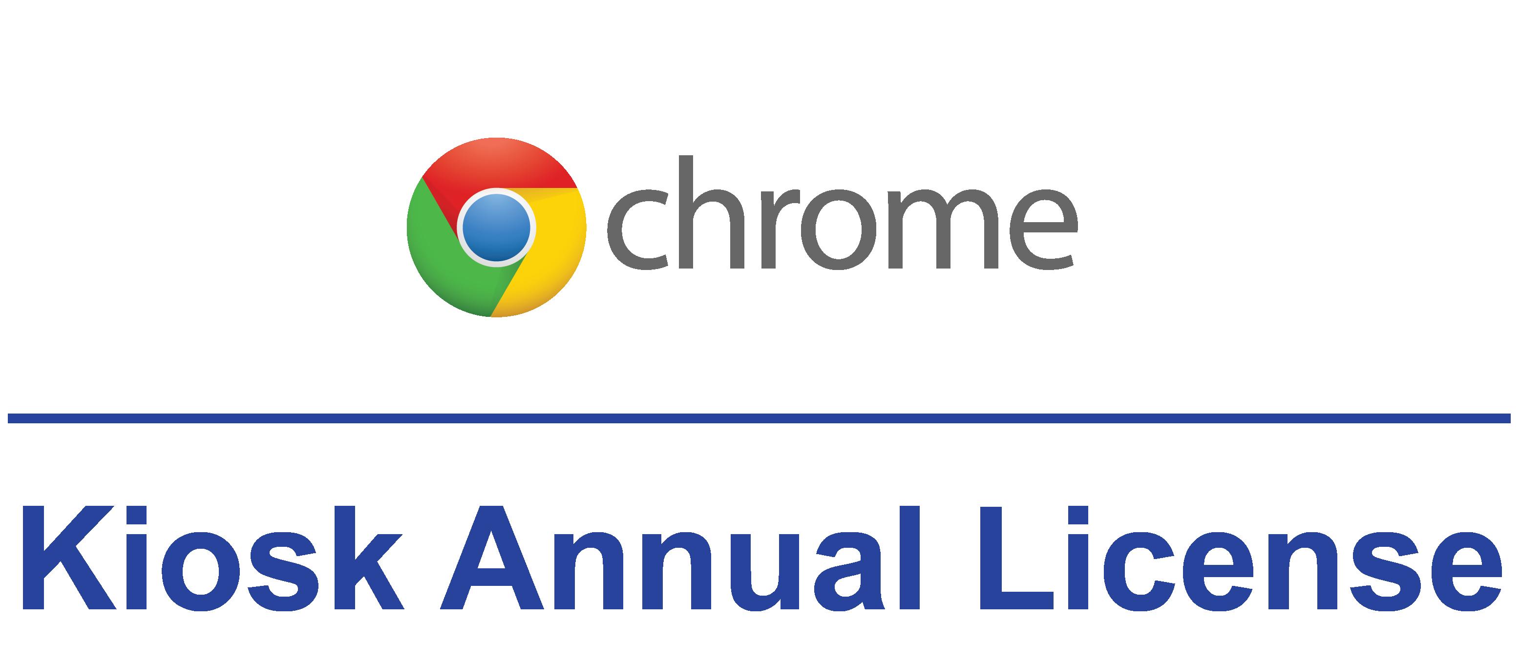 Chrome Device Management -Annual Kiosk License