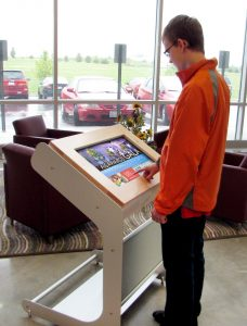 Interactive-Touchscreen-Kiosk