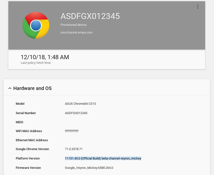 Google Chrome OS + ARM GPU Issue - Chrome Device Freezing