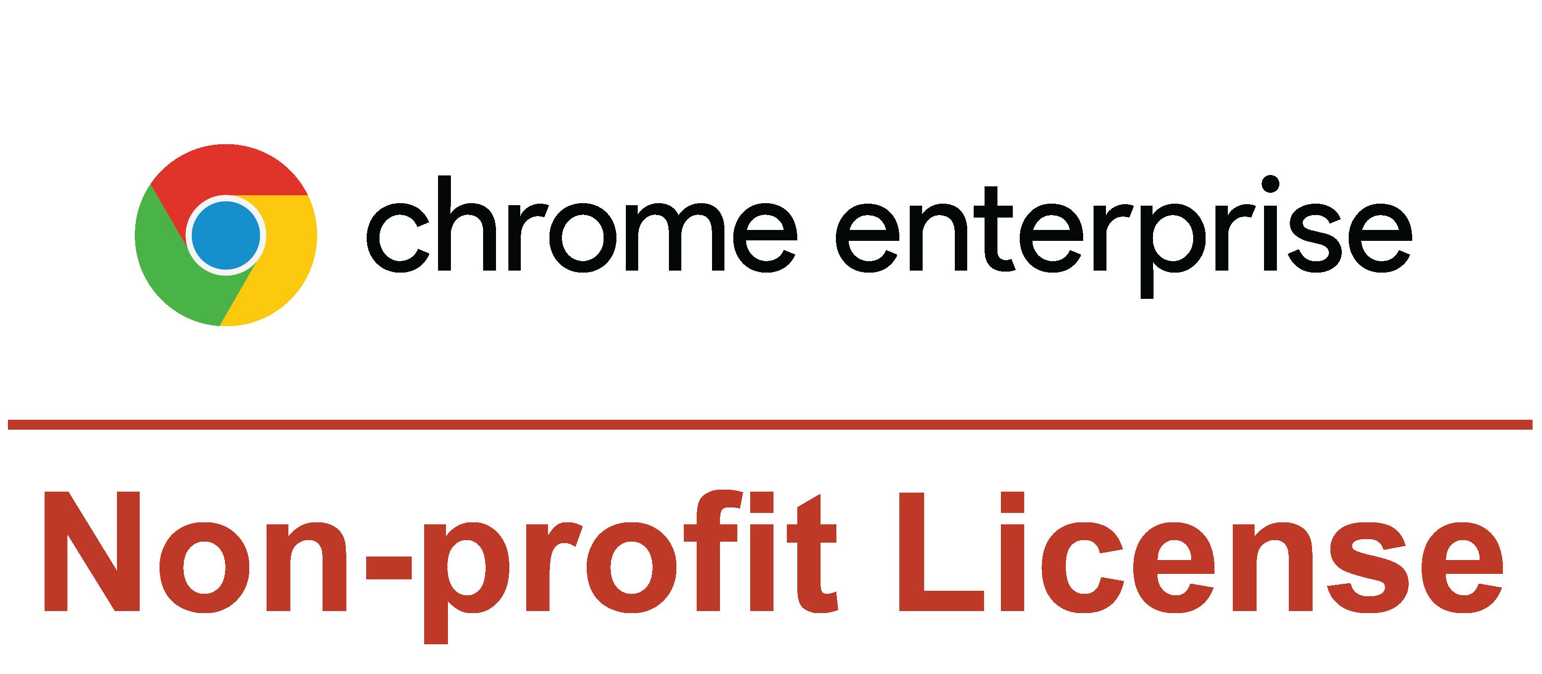 chrome nonprofit management license