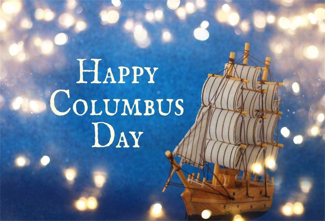 Columbus Day Boat for October Digital Signage