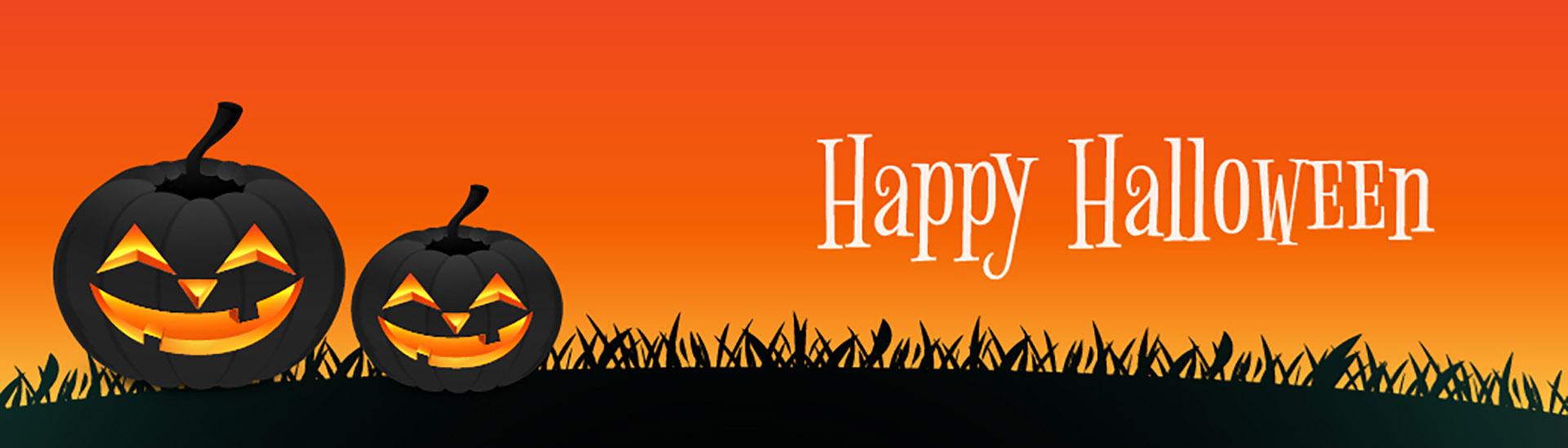 Halloween Banner for October Digital Signage