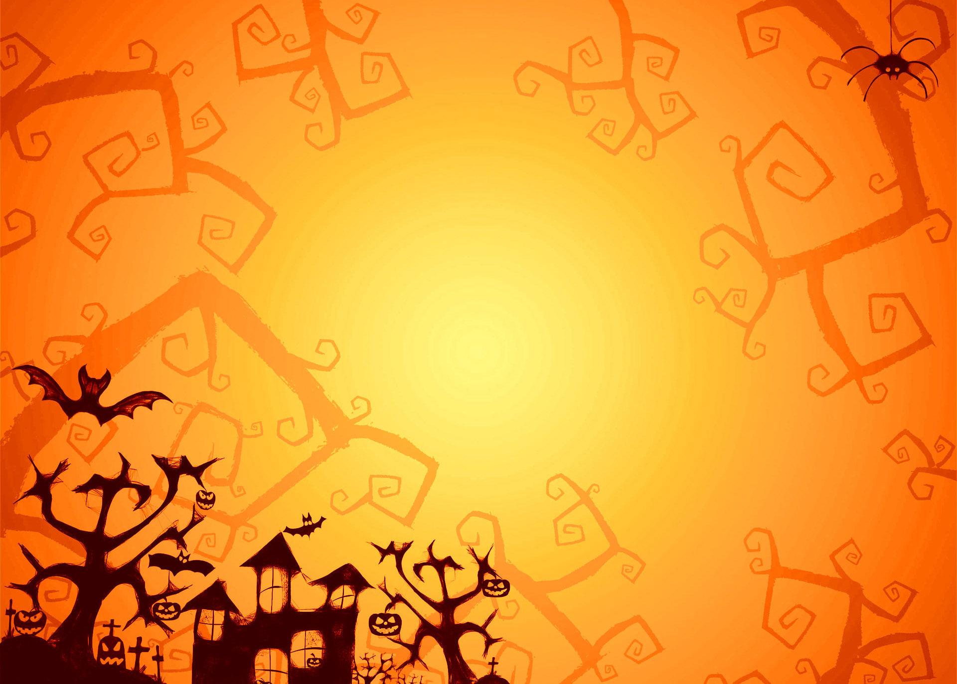 Happy Halloween for October Digital Signage