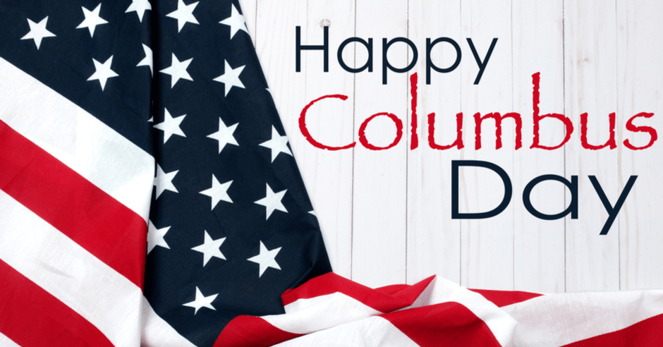 Happy Columbus Day 2019 for October Digital Signage