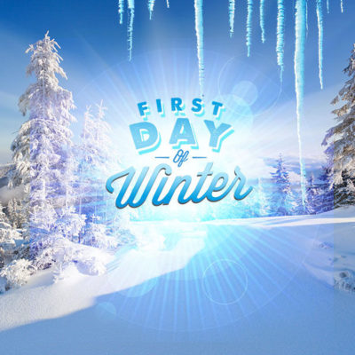 First Day Of Winter Digital Signage Content