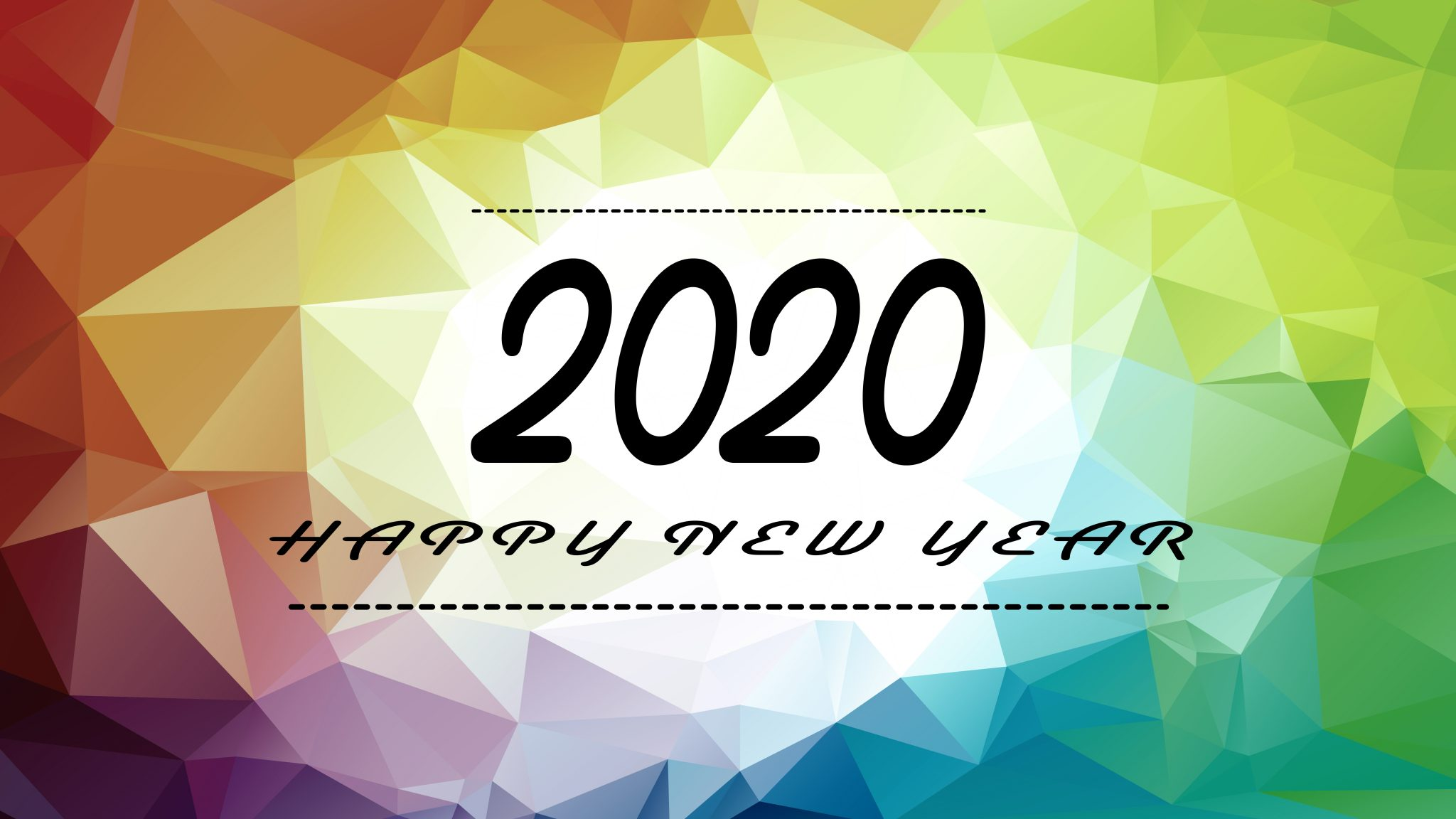 Happy New Year 2020 Digital Signage Content