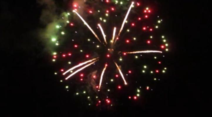 New Year Fireworks Digital Signage Video