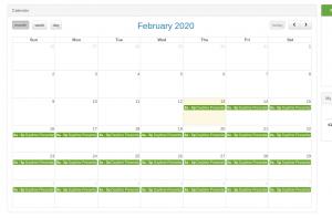Arreya schedule