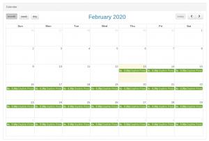 recurring schedules Arreya