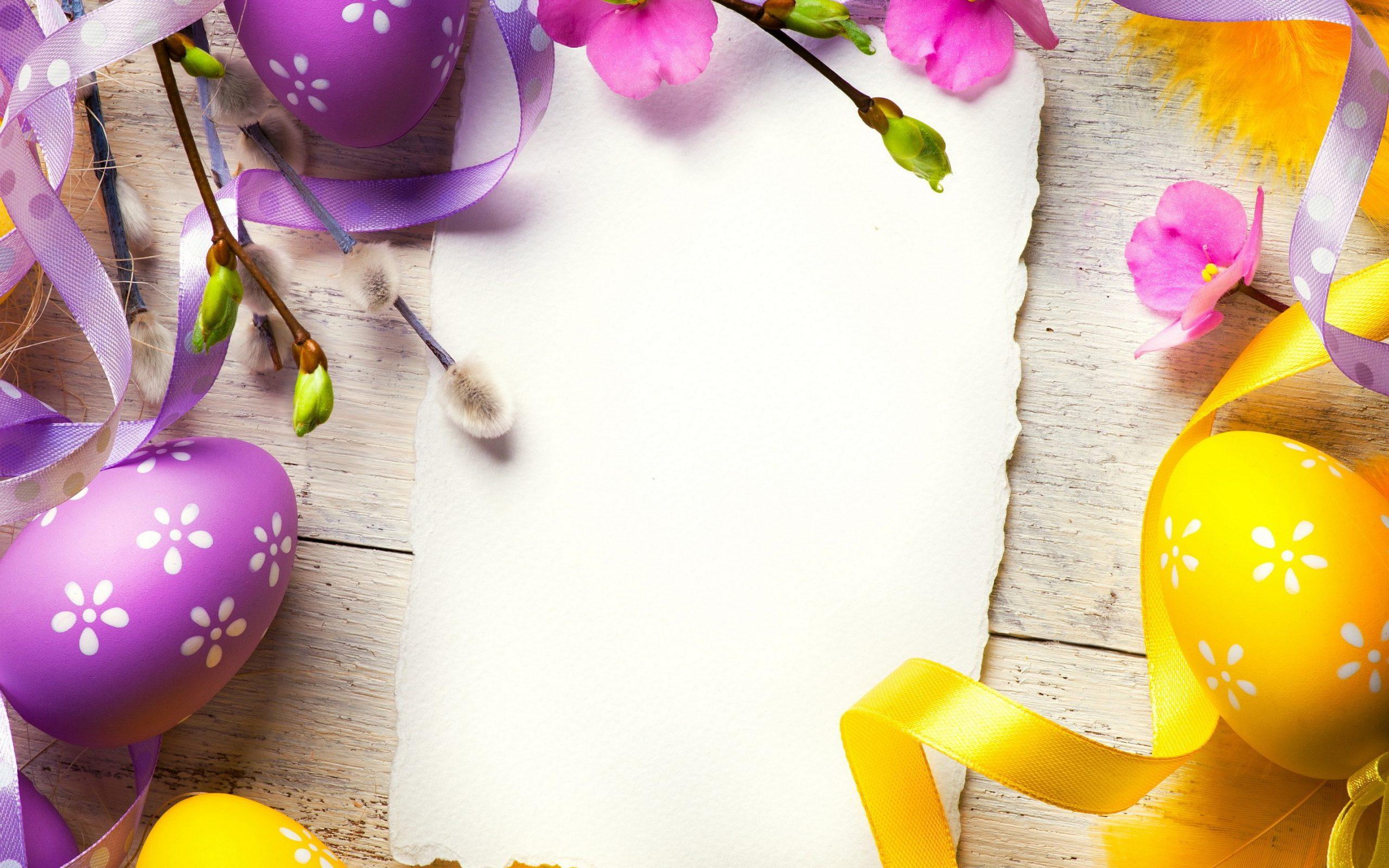 Easter Background Image For April 2020 Digital Signage