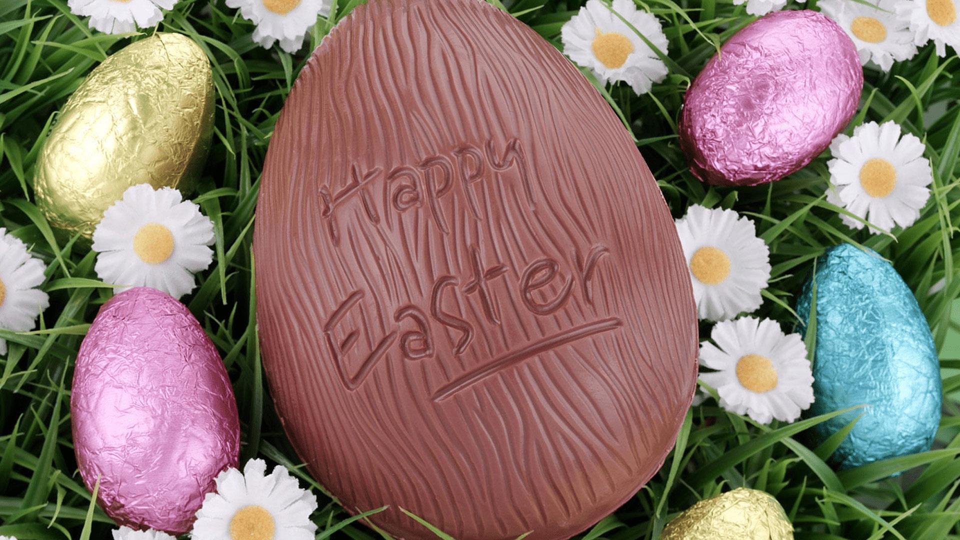 Happy Easter Egg Image For April 2020 Digital Signage