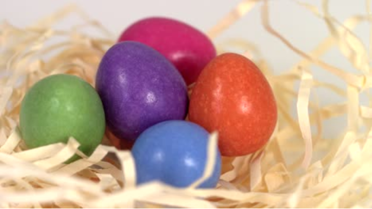 Colourful Easter Eggs Video For April 2020 Digital Signage