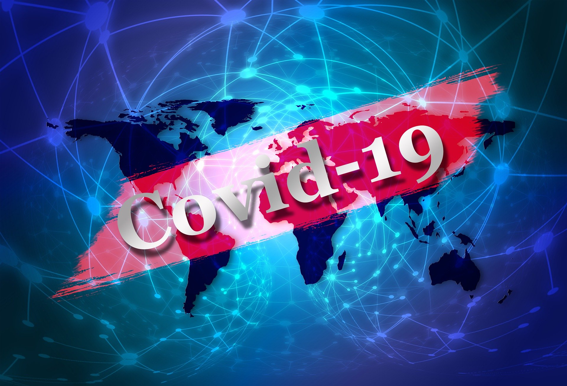 COVID-19 World Image For Your Digital Signage