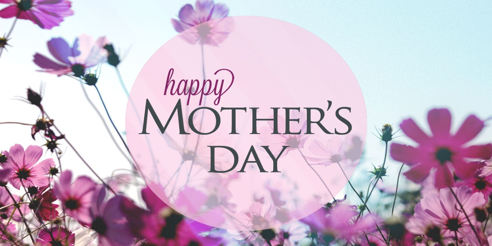 Happy Mother's Day Graphic May 2020 Digital Signage