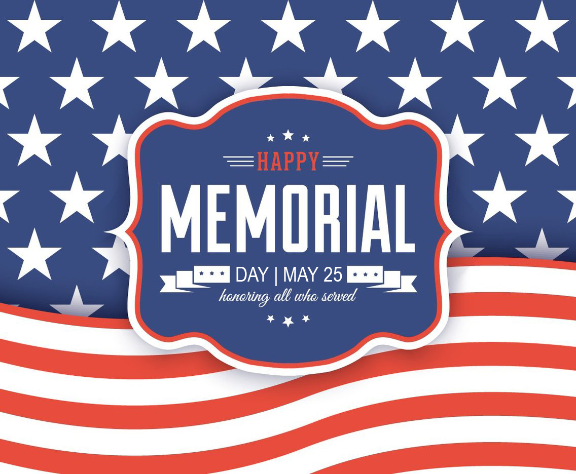 Memorial Day Image May 2020 Digital Signage
