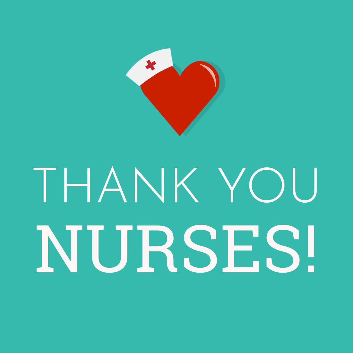 Thank You Nurses Graphic May 2020 Digital Signage