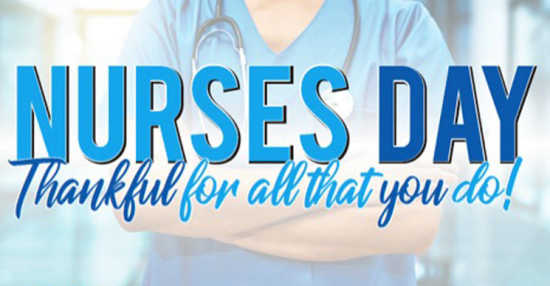 Nurses Day Graphic May 2020 Digital Signage