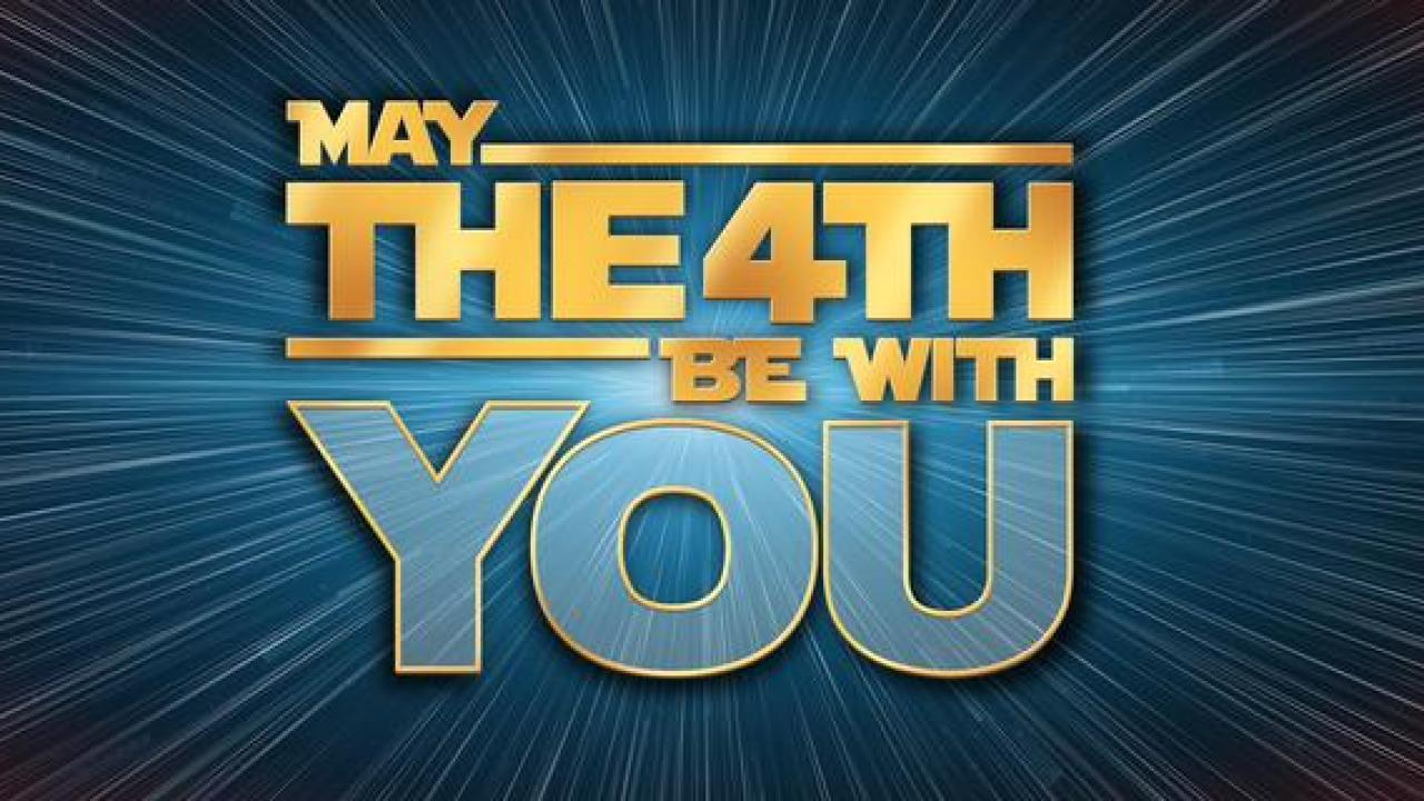Star Wars Day Graphic May 2020 Digital Signage