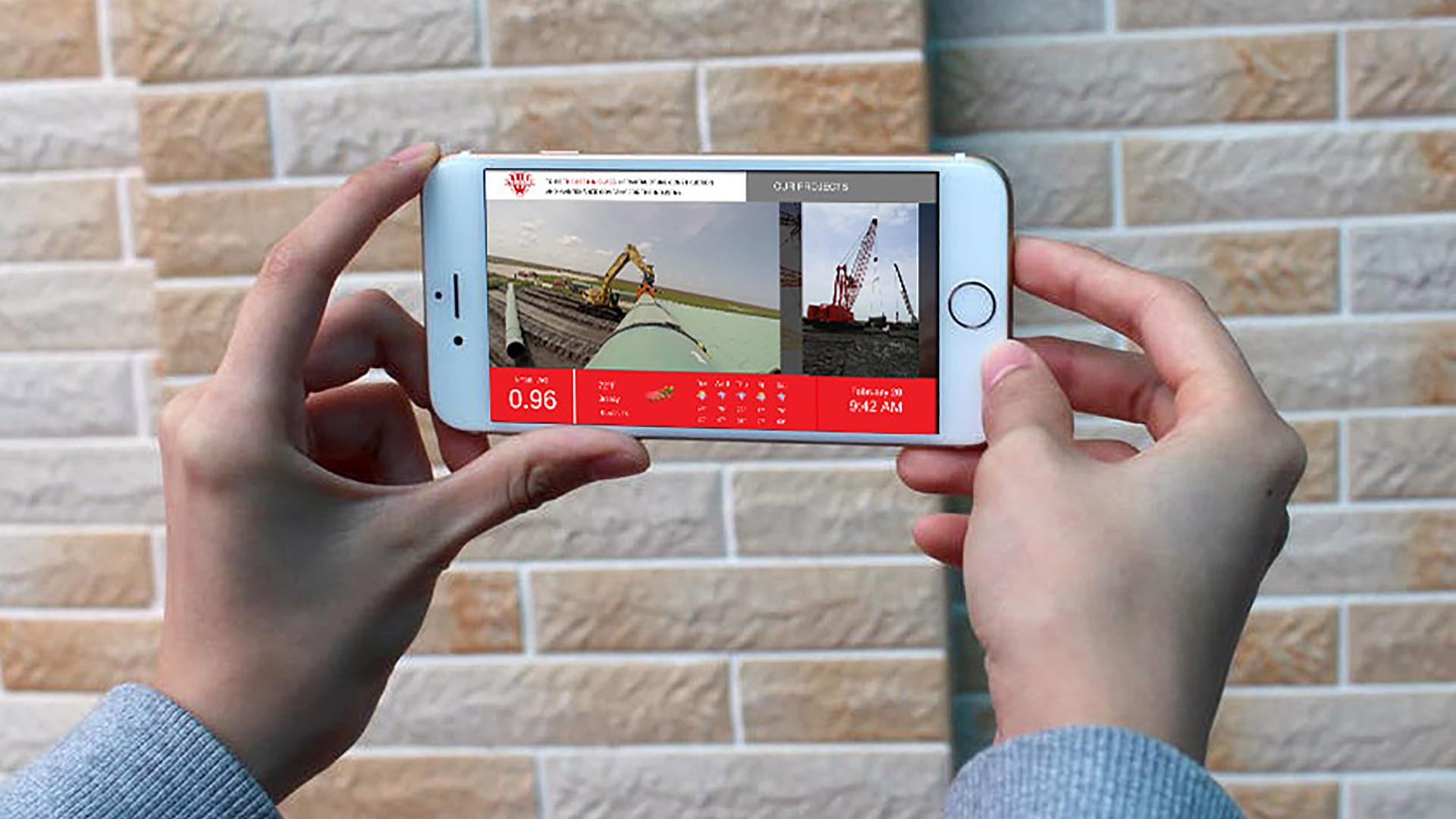 Digital Signage viewing on phones