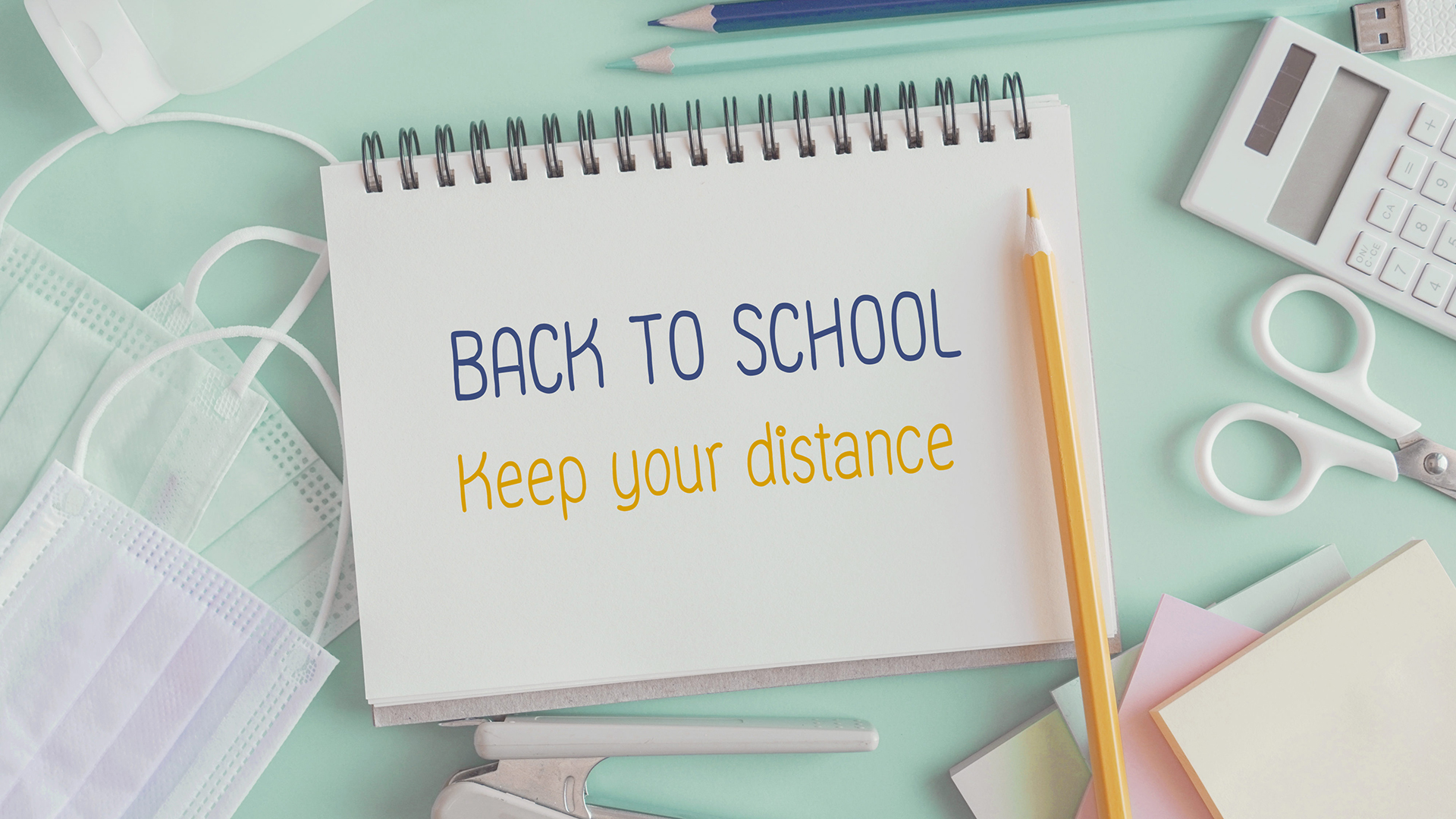 Back To School Graphic Message for Digital Signage Communications