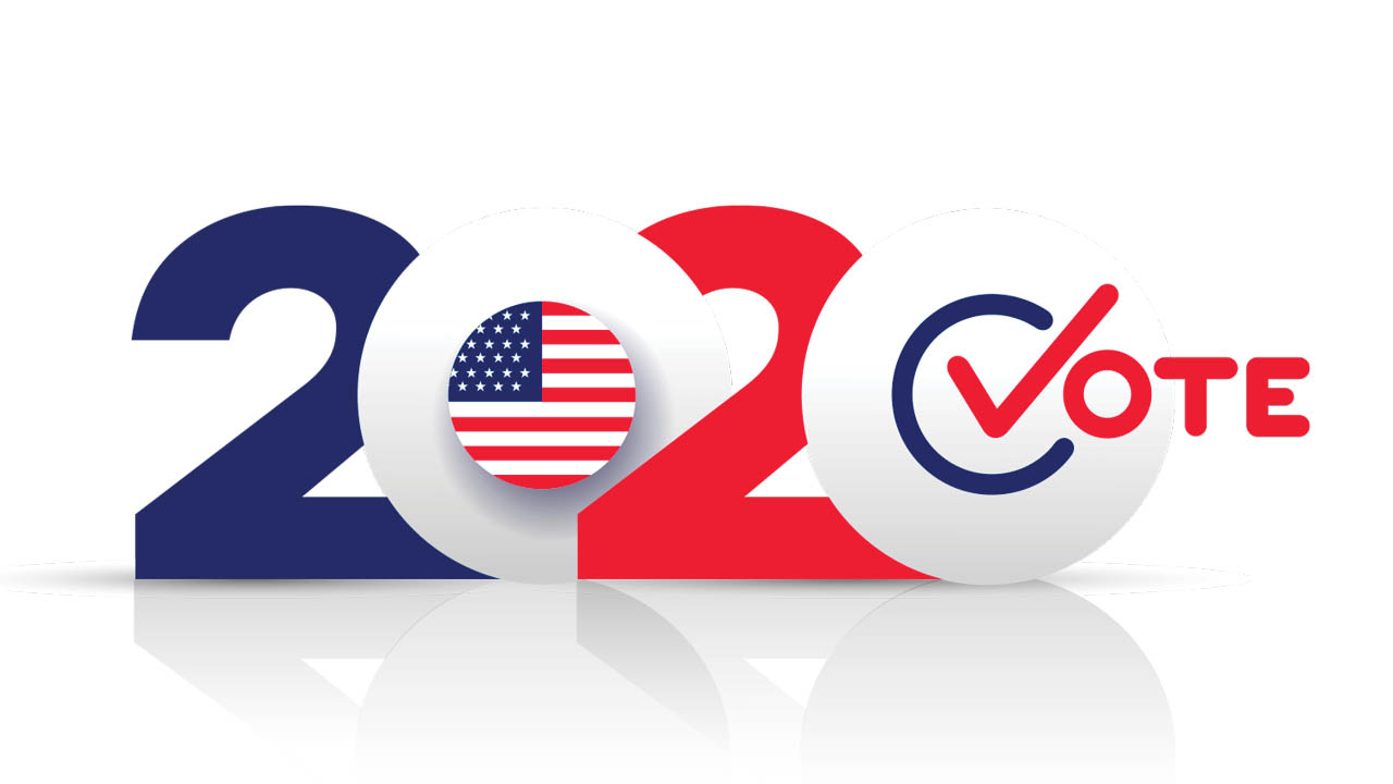 Election Vote Graphic Message for Digital Signage Communications