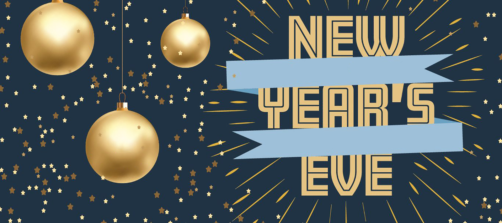 DEC 31 New Years Eve Graphic For Digital Signage