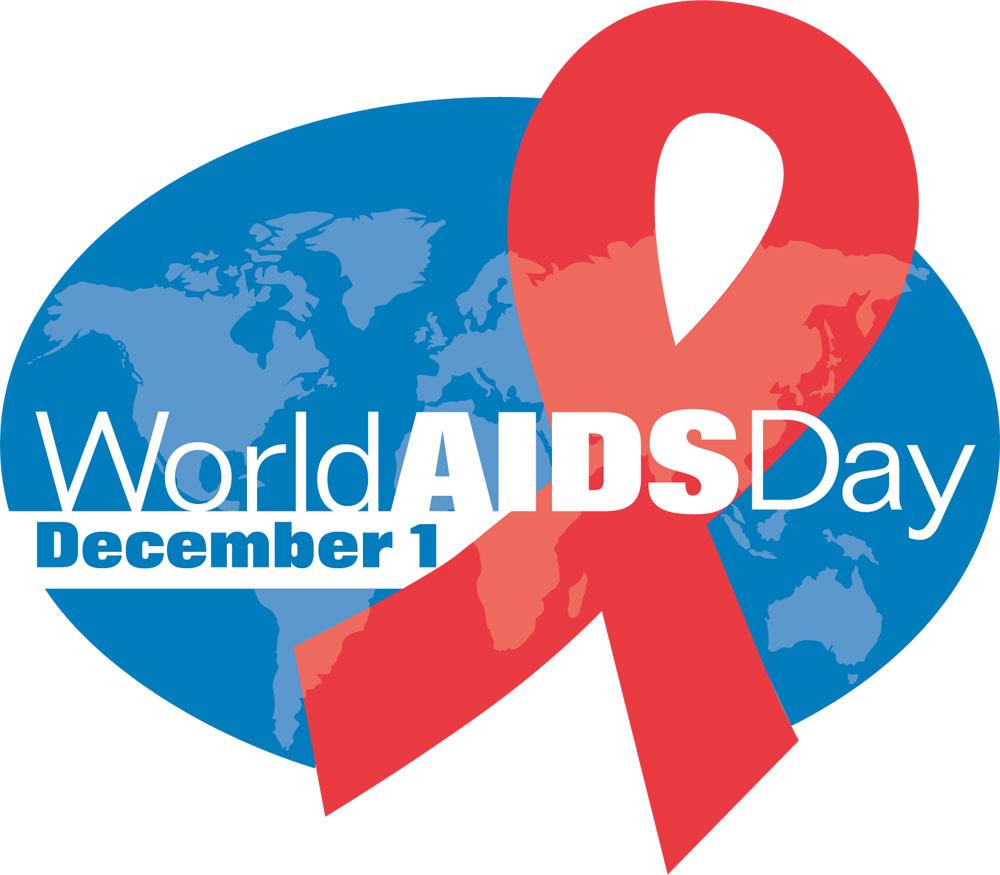 DEC 1 World Aids Day Digital Signage Graphic