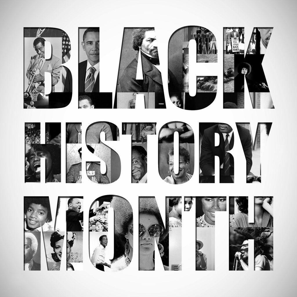 Black History Month February Digital Signage Graphic 1
